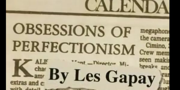 Les Gapay's article on Heaven's Gate