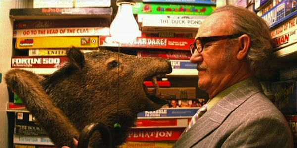 Gene Hackman in his final film - if only The Royal Tenenbaums - source: touchstone pictures